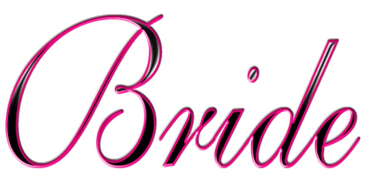 Bride Pink and Black