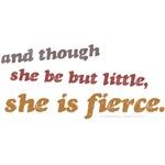 She is Fierce - Rinsed