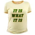 It Is What It Is Green 3D