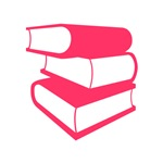 Stack Of Pink Books