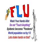 FLU Epidemic-Pandemic Art Designs