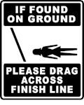 Please Drag Across Finish Line - Female Version