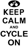 Keep Calm and Cycle On