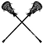 Distressed Lacrosse Sticks
