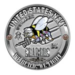 USN Navy Seabees Can Do Builder BU