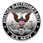 USN Aviation Electricians Mate Eagle AE