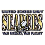 New SectionUS Navy Seabees Gold We Fight