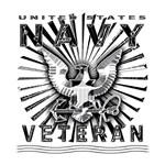 USN Navy Eagle Chiseled