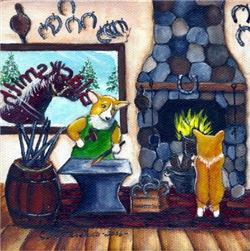 The Blacksmith Corgi
