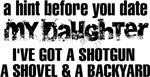 Shotgun, Shovel & A Backyard