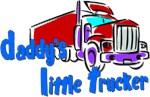 Daddy's Little Trucker - Blue