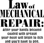 Law of Mechanical Repair: