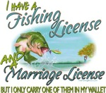 Fishing - Marriage - License