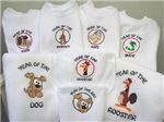 Embroidered Chinese Zodiac Items
