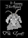 Old Goat Birthday 4 Him