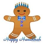 Hanukkah Gingerbread Man