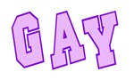 GAY T-Shirts & Gifts (College Style)