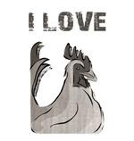 Funny 'I Love Cock' Gay Pride Wear!