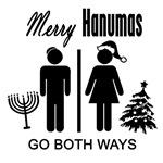 Hanumas: Go Both Ways