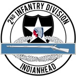 2nd Infantry Indianhead CIB