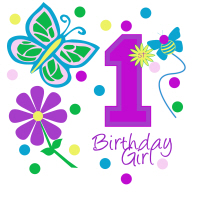 First Birthday Girls shirts and more