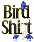 Blue Bird Shit Adult T-Shirt