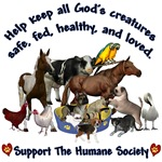 Support The Humane Society