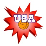 BASKETBALL USA T-SHIRTS AND GIFTS