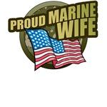 Marine Wife T-Shirts