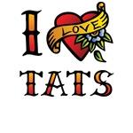 I Love TATS T-Shirts