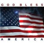 American Flag - White