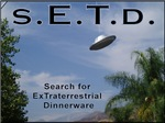 Search for ExTraterrestrial Dinnerware