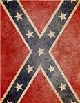 Faded Confederate Flag