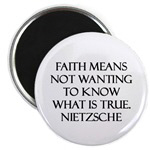 Faith Means Not Wanting to Know What is True