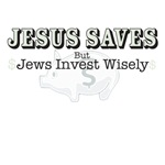 Jesus Saves, but Jews Invest Wisely