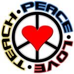 Peace Love Teach