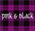 Pink and Black Tartan