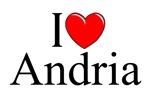 I Love (Heart) Andria, Italy