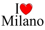 I Love (Heart) Milano, Italy
