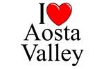 I Love (Heart) Aosta Valley, Italy