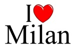 I Love (Heart) Milan, Italy