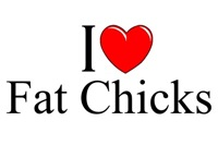 I Love (Heart) Fat Chicks