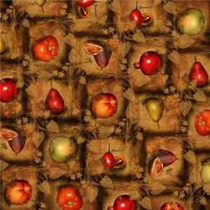 Fruit Collage Pattern