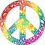 Rainbow Peace Symbols T-shirts & Gifts