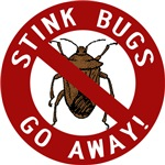 Stink Bugs Go Away T-shirts