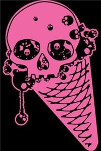 Evil Ice Cream Cone Pink