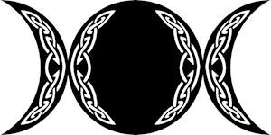 Triple Goddess Moon Symbol
