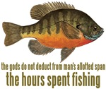BLUEGILL Fishing Saying