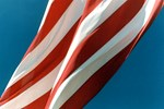 American Flag Abstract