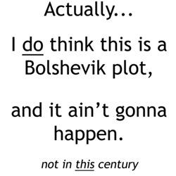 Front/Back: Bolshevik plot